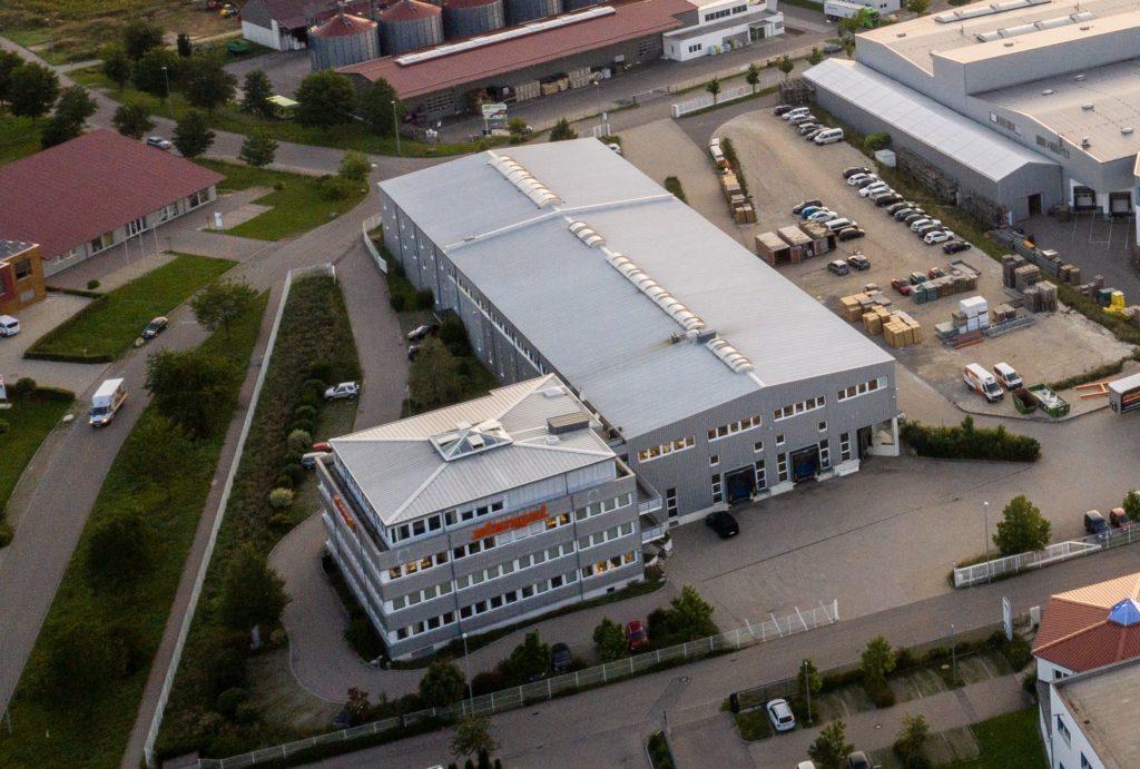 Luftbild Stengel Steelconcepts