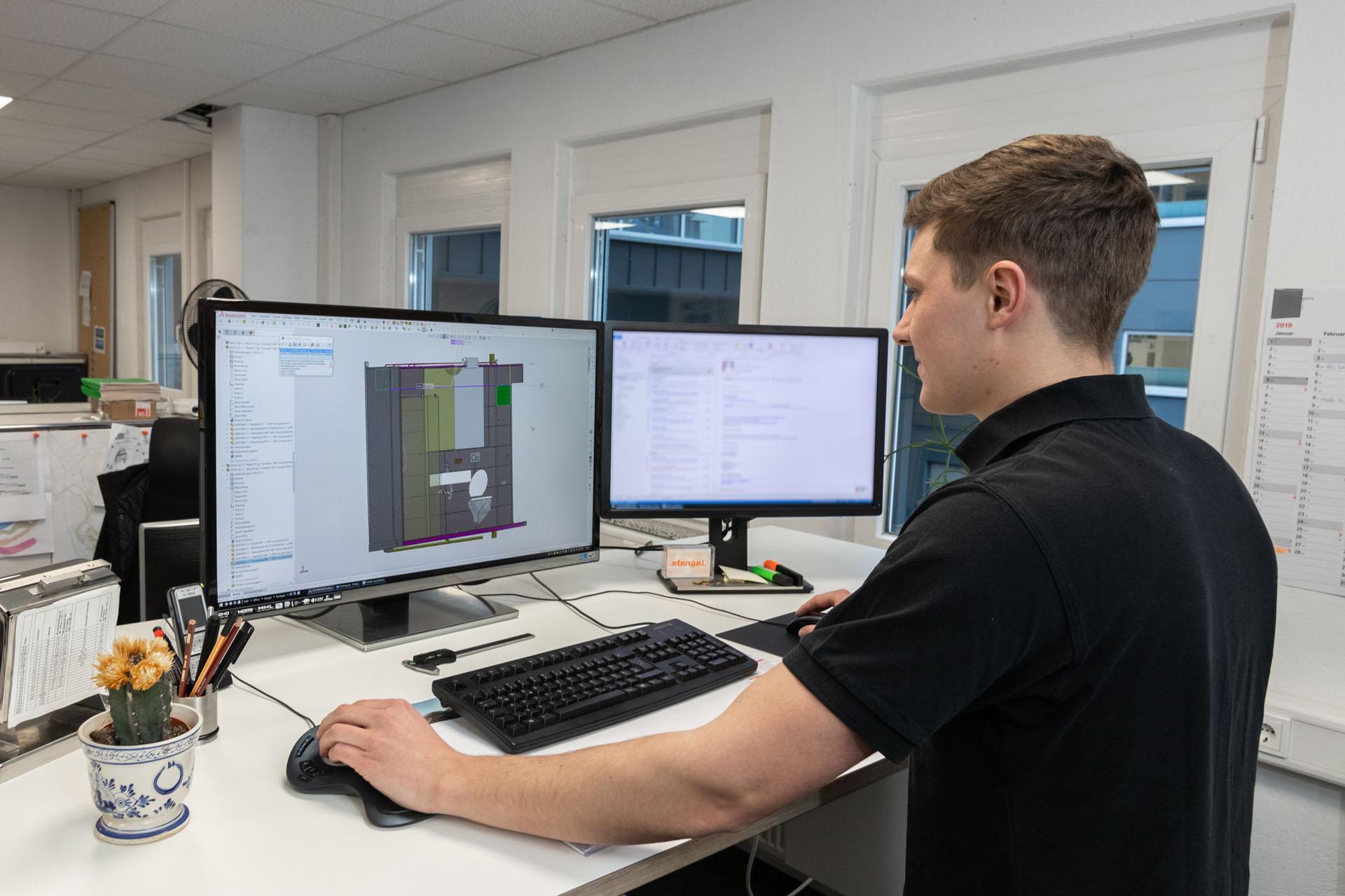 Stengel Büro Konstruktion Beruf