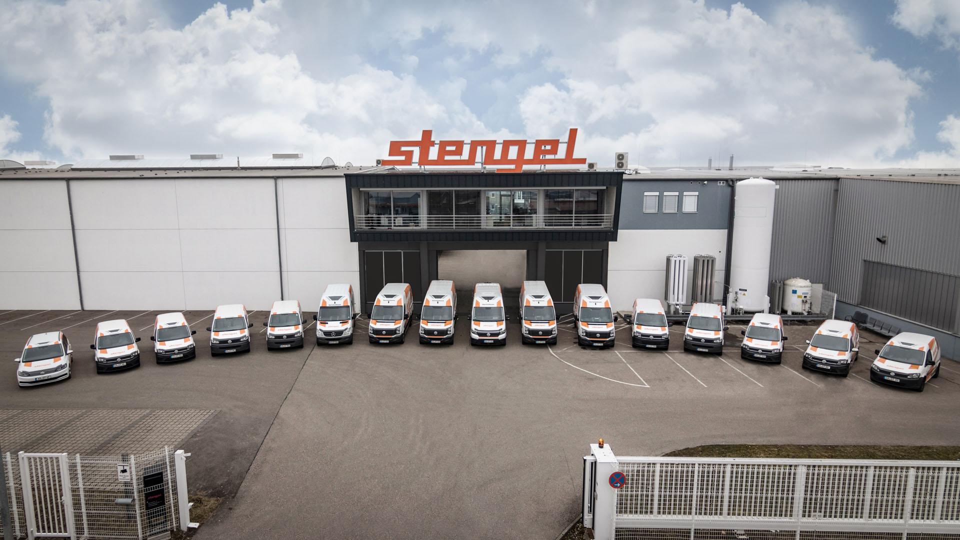 Stengel Fuhrpark Lieferwagen