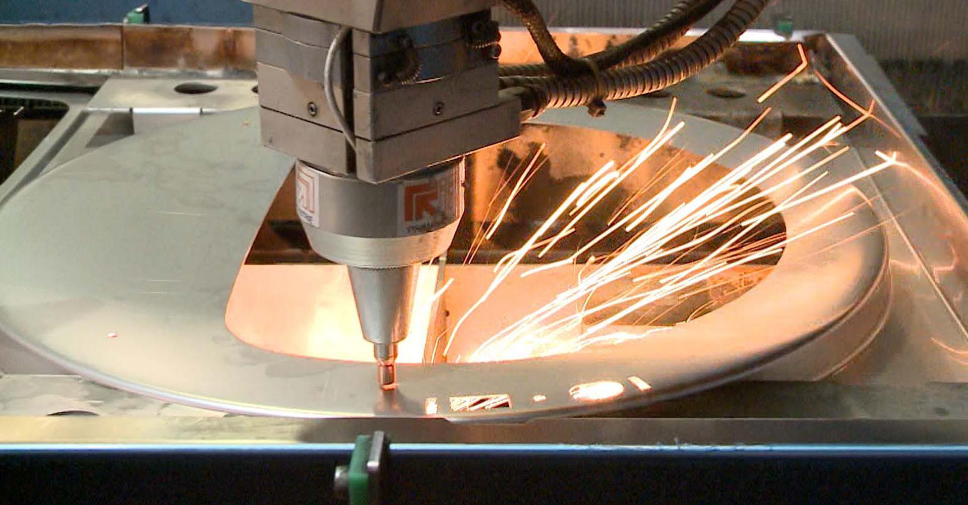 Stengel Laserschneiden Maschine