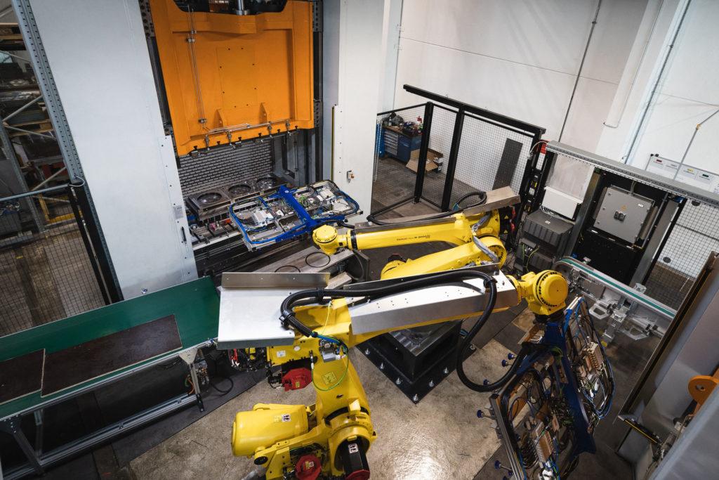 Stengel Ziehen Pressen Maschine